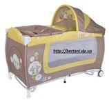 Детская кровать-манеж Bertoni Lorelli Danny 2 rocker