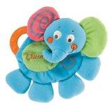 Chicco Игрушка мягкая с грызунком Слон