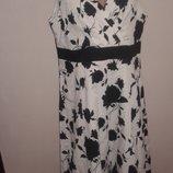 большой размер 20р -98% коттон новое платье Klass c olection