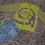 Комплект шорты и олимпийка на 2-4 года