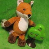 Лиса.лисица.лис.лисиця.мягкая игрушка.мягка іграшка.мягкие игрушки.Kinder