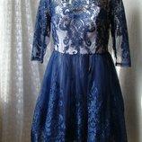 Платье вечернее шикарное Chi Chi р.50 7510