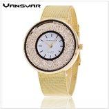 Женские часы очень красивые с камешками
