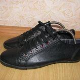 burton menswear london кеды кроссовки мокасины 42р по ст 27 см екокожа как новые