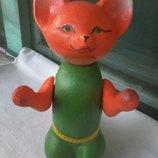 Кукла ссср Лисичка целлулоид Шостка 20 см