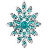 Кольцо с кристаллами Сваровски Pilgrim Дания элитная ювелирная бижутерия ручной работы