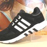 Кроссовки мужские Adidas Equipment Support черн-белый 41р-46р