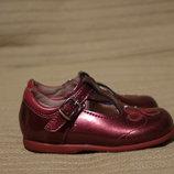 Очаровательные перламутровые кожаные туфли цвета фуксии Start-Rite 20 G.