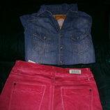 Брендовые джинсы скинни рlein sud.Марокко.ПОБ-45см,ОТ-76см