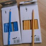Олівці кольорові Kite, блакитний.