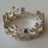 Кольцо Ке1110Мд, серебро 925 проба, кубический цирконий.