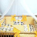 детское постелное белье простынь наволочка пододеяльник защита защитное ограждение бортики бампер