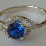 Кольцо Ке1049Мд, серебро 925 проба, кубический цирконий.