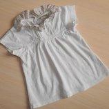 Нарядная футболка, блузка, блуза Next 9-12 мес, 74-80 см, оригинал