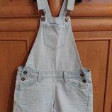 джинсовый комбинезон на девушку