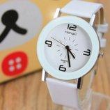 Стильные белые женские часы, новые