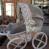 дизайнерский сувенир vintage коляска 20 30