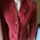 Класна замшева куртка-піджак ог 92см