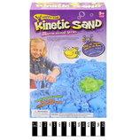 Кинетический песок с пасочками и лотком коробка 300 грамм 6668F творчество лепка