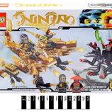 Конструктор loho Ninja ниндзя 241 деталей SX3009-1