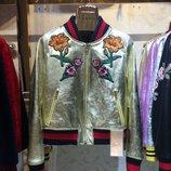 Куртка Gucci натуральная кожа.