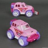 Джип Внедорожник розовый Технок 4609 пластиковая машинка