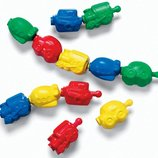 Fisher-Price Конструктор-Бусы транспорт Snap-Lock Beads