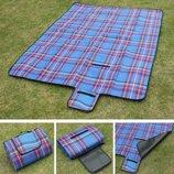 Коврик для пикника, подстилка, покрывало, плед, немпромокаемая, компактная, универсальная