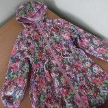 Курточка ветровка девочке 5-6 лет 110-116 см TU ТиЮ оригинал бренд весна осень легкая