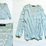 Нарядная блузочка актуального мятного цвета