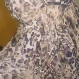 стильна легка леопардова сукня р42 H&M