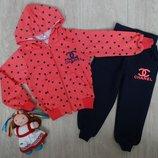 Спортивный костюм CHANEL для девочки на 2 года