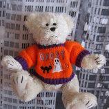 Коллекционный ведмедь мишка кукла игрушка