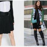 Новая брендовая юбка разных тканей Zara woman р.XS-S Испания . Сделать горячимНа главнуюСоздать а