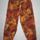 Летние укороченные брюки с принтом H&M
