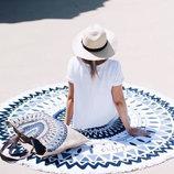 Пляжный коврик Мандала