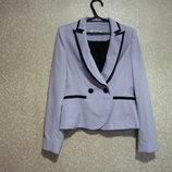 Пиджак жакет р.38-42, FASHIONWAY двубортный, приталенный на подкладке женский, шикарно,