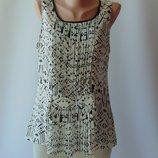 легкая прозрачная блуза от esqualo 42 р.