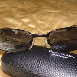 мужские брендовые очки металл чехол Paul Smith идеал UV 400 Ray-Ban Louis Vuitton Burberry