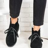 Ботинки кожаные и замшевые классика, классические, черевики класичні