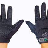 Мотоперчатки текстильные с закрытыми пальцами Fox 4641 3 цвета, размер L