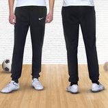 Стильные спортивные штаны Nike на манжетах . Акция