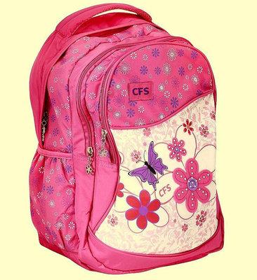 Ортопедический молодежный рюкзак City Style для девочки