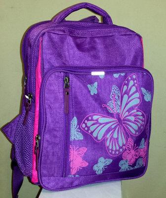 Рюкзак для девочки украинского про-ва Bagland Бабочка