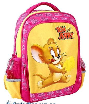 Ортопедический школьный рюкзак для девочки Том и Джерри
