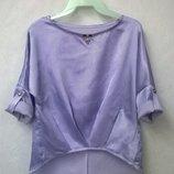 Стильная блуза-туника для девочки 134, 140, 146, 152, 158р.