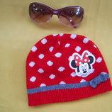 Красивая шапка Disney,до 5лет,отличное состояние