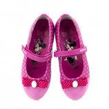 Хит продаж Красивые фирменные туфли балеткки серии Disney 28-31 р.р.