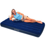 Надувной матрас кровать Intex для дома и кемпинга. Новый