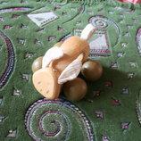 Деревянная каталка зайчик отличного качества
